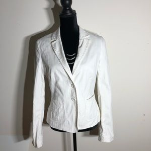 Express Design Studio White Blazer.